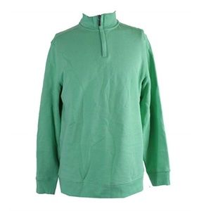 New Club Room XXL Cotton Knit Zip Sweater P255